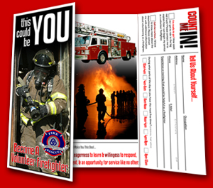 Become A Volunteer Firefighter!